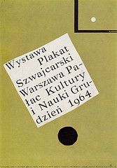 By Henryk Tomaszewski, 1 9 6 4, Plakat Szwajcarski.