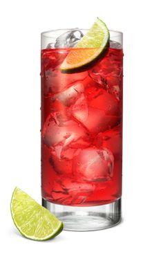 Raspberry Codder oz Smirnoff Raspberry 3 fl oz Lemon-Lime Soda 1 splash Lime Juice 1 slice Lime HOW TO MIX IT: Fill glass with ice. Add SMIRNOFF® Raspberry Vodka, soda, and lime juice. Garnish with lime slice. Strawberry Vodka Drinks, Raspberry Vodka, Drinks Alcohol Recipes, Strawberry Recipes, Cocktail Drinks, Cocktails, Summer Drinks, Fun Drinks, Milkshakes