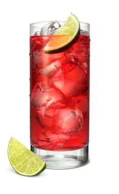 WHAT'S INSIDE: 1.5 oz Smirnoff Raspberry 3 fl oz Lemon-Lime Soda 1 splash Lime Juice 1 slice Lime HOW TO MIX IT: Fill glass with ice. Add SMIRNOFF® Raspberry Vodka, soda, and lime juice. Stir well. Garnish with lime slice.