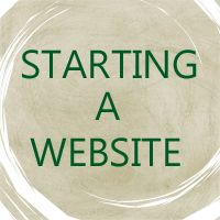how to start a website without knowing html code