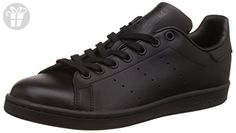 adidas Men's Originals Stan Smith Sneaker, Core Black/Black/Black, 10.5 M US (*Amazon Partner-Link)