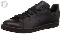 adidas Men's Originals Stan Smith Sneaker, Core Black/Black/Black, 10.5 M US (*Amazon Partner-Link)