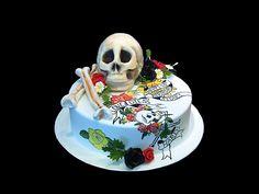 Ed Hardy Inspired Cake love it