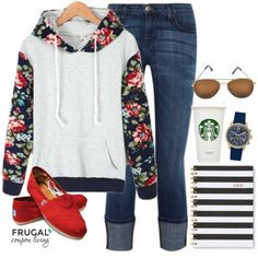 Feeling a few extra pounds post the holiday season? Check out this January Outfit or our Post Holiday Comfort Outfit this Frugal Fashion Friday. Details on Frugal Coupon Living.
