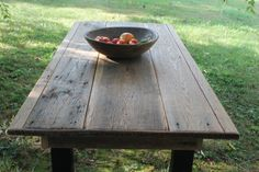 gorgeous rustic table
