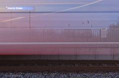 trein bij station Empe, gemeente Voorst