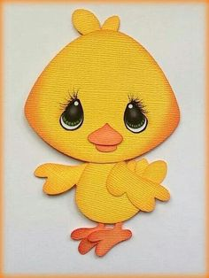 BABY CHICK PAPER PIECING