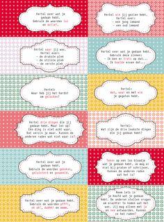 Interviewkaartjes | Juf & Meester