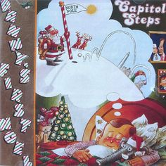 Capitol Steps Danny's First Noel 1989 Christmas Political Humor Reagan Bush Olly #MusicComedy