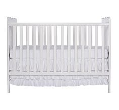 Dream On Me Classic two in one Convertible Stationary Side Crib, White