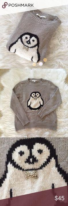 LAST CHANCE‼️LC Lauren Conrad Penguin Sweater Super cute LC Lauren Conrad penguin sweater perfect for fall and winter! In perfect condition. So adorable! 4.75cfrur41 LC Lauren Conrad Sweaters
