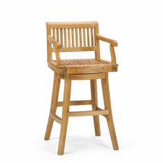 Cassara Swivel Bar Stool--something like this in Paul's style for the kitchen lounge