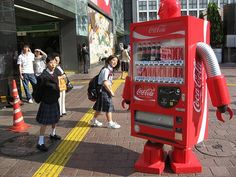 crazy Vending Machines http://www.toxel.com/tech/2009/06/08/14-cool-vending-machines-from-japan/