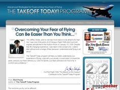 cool Fear of Flying Phobia | Takeoff Today! Get Your FREE Fear of Flying Report and Overcome Your Flying Anxiety