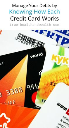 Manage Your Debts by Knowing How Each Credit Card Works - Good Credit Score, Improve Your Credit Score, Check Your Credit, Types Of Credit Cards, Best Credit Cards, Wellness Club, Unsecured Credit Cards, Credit Card Statement, Shopping Coupons