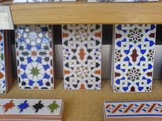 Granada range tiles, inspired by Alhambra, by Fired Earth