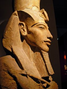 Akhenaton...an amazing profile...arguably the first monotheist..Nefertiti's husband.