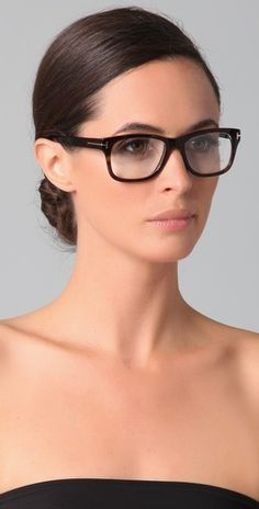 Tom Ford...wish i could pull off the hipster glasses.... sigh.