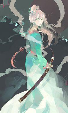 劍 by 梅雨季(pixiv) / 253421 (deviantart) • Blog/Website | ( http://lanxin.tumblr.com/) ★ Deviantart | ( http://253421.deviantart.com/ ) || Find him/her on and learn more about #art #anime || ★ http://www.pixiv.net/member.php?id=1494603