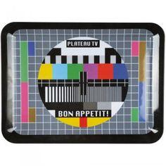 Idée cadeau fun, le plateau télé - La Chaise Longue