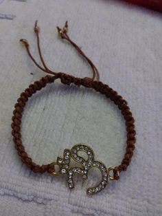 Simple macrame with charm..