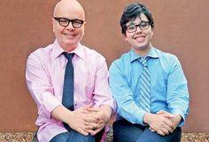 """Marcelo Tas se emocionou, nesta quinta-feira, 20, durante sua participação no """"Encontro com Fátima Bernardes"""" ao falar da relação com seu filho, Luc. O garoto nasceu no sexo feminino, mas ao longo da vida se descobriu um homem transgênero."""