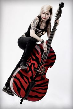 Krista Kat  Upright Bass The Silver Shine