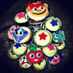 Moska & Panagiotis Moshi Monster cupcakes