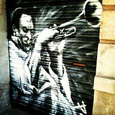 Wild trumpet #streetart #graffiti #trumpet #vallcarca #barcelona