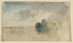 Joseph Mallord William Turner, 'Trees by the Water' c.1820-30