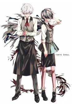 Kaneki & Touka   Tokyo Ghoul #manga