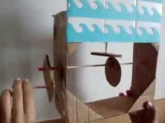 Tubarão - Brinquedo automato - Shark automata toy - YouTube Simple cute shark cam