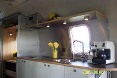 Ikea Cabinetry in restored Argosy.