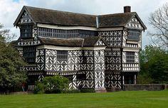 Little Moreton Hall, Cheshire, England by EVOLJO