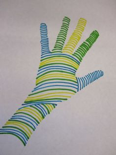 elementary line art projects | ... South Elementary Art Teacher Mrs. Nienhouse for this project idea
