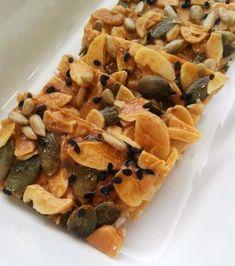 ~ Rahsia Hatiku ~: RESEPI: Nutty Thins / Florentine Cookies / Caramel Nuts Bar / Almond Crunchy / Bepang Kacang