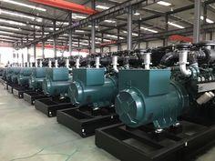 EvoTec alternators coupling with DOOSAN Industrial Generators, China Website, Land Use, Economic Development, High Voltage