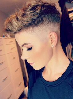 243 Best Tomboy Haircut Images In 2019 Haircuts Pixie Hair Male