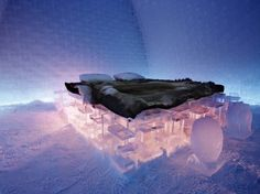 World's Largest Ice Hotel By Art & Design Group