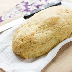 Paleo Garlic Bread...bread is the hardest thing to go without! I'll definitely try this :-)