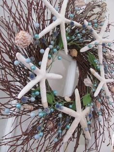 DIY Beachy Wreath, Guest Post by Two Succulent Sisters