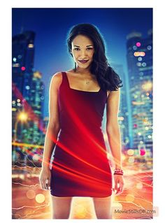 Flash - Promotional art with Candice Patton
