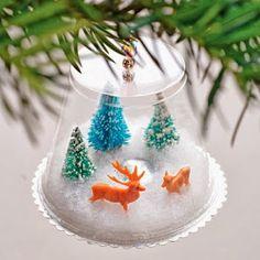 Fraldas & Rabiscos: DIY - Ornamento de Natal