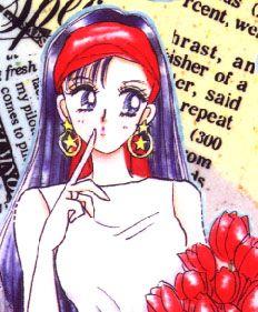 火野レイ / セーラーマーズ Rei Hino / Sailor Mars - art by Naoko Takeuchi for Sailor Moon