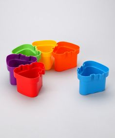 Take a look at this Connecting Pots Set by Ready 2 Learn on #zulily today!