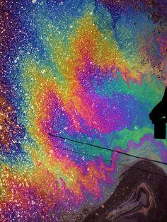 Oil Slick #Colorful