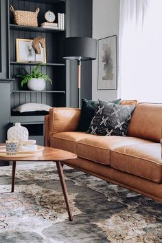 44 kids, work and black furniture living room color schemes couch sofas 17 - Home Decor Lightings Living Room Color Schemes, Living Room Grey, Living Room Interior, Home Living Room, Living Room Designs, Tan Sofa Living Room Ideas, Classy Living Room, Tan Couch Decor, Living Room Couches