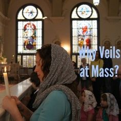 I recently gave a talk to some young girls about chapel veils...here are my notes and a very wonderful sermon given on the subject.   We veil many things in the Catholic church. Can you name s...