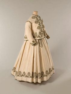 Paletot Jacket And Skirt,   c.1866  From the Musee Galliera