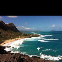 View from the Mokapu'u Lighthouse (Oahu, HI)